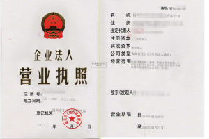 Business License Certified Translation in Shanghai: China Business License